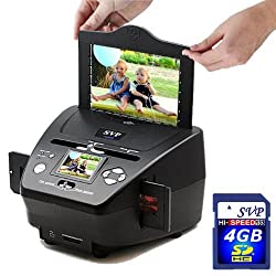 SVP PS9700 with 4GB Digital Film/Slide/Photo Scanner w/ 2.4 Inches Build-in LCD