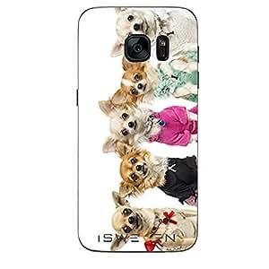 iSweven Printed Designer Kittens Design Back case cover Samsung Galaxy S7 Edge s7e1471