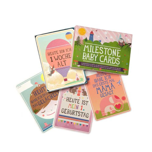 Milestones - Cartoline per ricordare i momenti più importanti dei primi anni di vita di un bambino