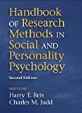img - for Handbook of Research Methods in Social and Personality Psychology book / textbook / text book