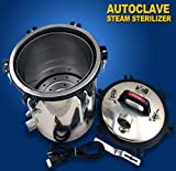 New Portable 18L Autoclave High Pressure Steam Sterilizer