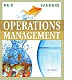 img - for by Nada R. Sanders,by R. Dan Reid Operations Management(text only)4th (Fourth) edition[Hardcover]2009 book / textbook / text book