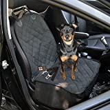 Dog Front Seat Cover,Geega Oxford Waterproof Pet Car Protection Single Seat Cover For Dog Non Slip With Dog Car...
