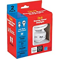 Twist 2-Pack CFL Light Bulb-2PK 23W MINI TWIST BULB
