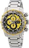 Nautec No Limit Herren-Armbanduhr XL D2X Chronograph Quarz Edelstahl DT QZ/STSTSTYL-YL