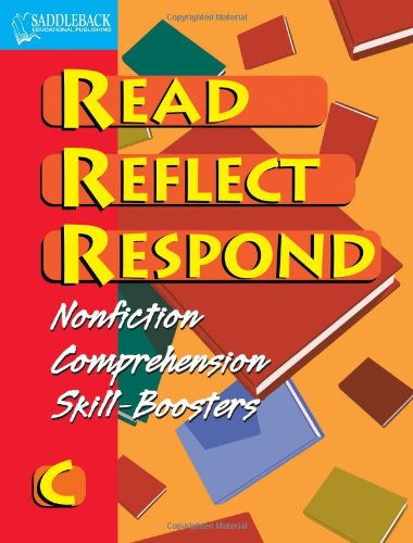 Book C- Read, Reflect, Respond
