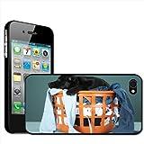 Fancy A Snuggle Coque rigide à clipser pour Apple iPhone 44S Motif chien dans une panière à linge