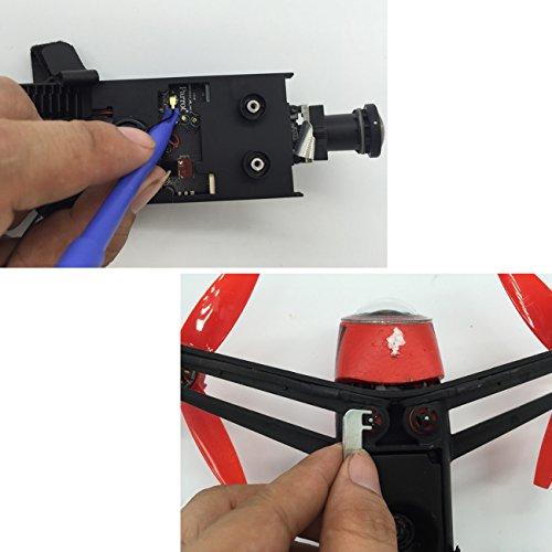 Tera 7pcs upgrade fixing repair mount tools kit for parrot for Bebop 2 motor repair kit