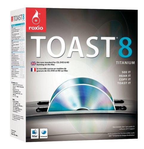 Roxio Toast Titanium - (Version 8 ) - Ensemble Complet - 1 Utilisateur - Cd - Mac - Anglais, Français
