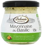 Delouis Pesto Mayonnaise 125 g (Pack of 6)