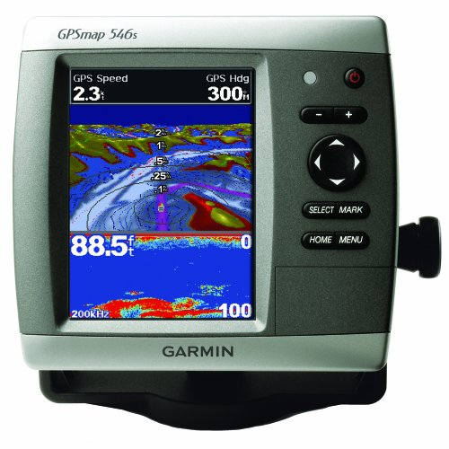 Brand New Garmin - Garmin GPSMAP 546S Dual Frequency Combo w/TM Transducer