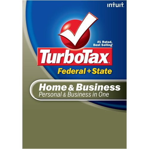 TurboTax Home & Business Federal + State + eFile 2008 (Old Version) [DOWNLOAD]