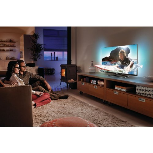 fernseher g nstig kaufen philips 47pfl6907k 12 119 cm 47 zoll ambilight 3d led backlight. Black Bedroom Furniture Sets. Home Design Ideas