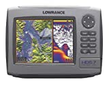 Lowrance HDS-7 7-Inch Waterproof Marine GPS and Chartplotter with 83/200kHz transducer (Insight USA Maps)