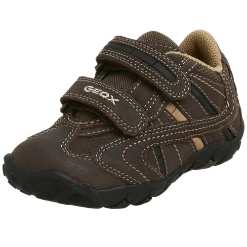 Geox Toddler/Little Kid Creeper Shoe,Coffee,28 Eu (10.5 M Us Little Kid) front-925902