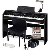 Casio PX-780 (Black) 88-Key Digital Piano w Casio Bench Bundle