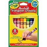 Crayola My First Crayola Triangular Crayons 8ct
