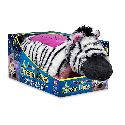 Dream Lites Zebra Pillow Pets - 1