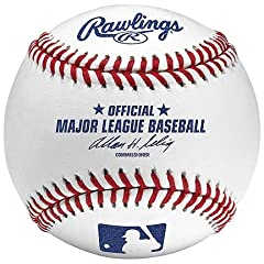 Official Major League Leather Game Baseballs from Rawlings - (One Dozen) by Rawlings