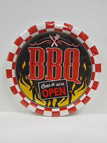 Weekend BBQ 9 Inch Plate [48 Pieces] *** Product Description: Weekend BBQ 9 Inch Plate.Decorate Your Table This Summer With These Colorful Weekend BBQ 9 Inch Plates. They Are Great For Grilling Nights, A BBQ Birthday Or Any Other Grilling Occasio ***