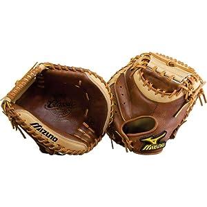 Mizuno Classic Pro Soft GXC27 Catcher's Mitt (34-Inch, Right Handed Throw)