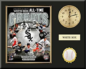 Chicago White Sox All Time Greats Team Composite Photo Inserted In A Gold Slide In... by Art and More, Davenport, IA