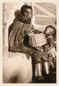 South African Mother and Child 20x30 poster
