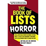 The Book of Lists: Horror ~ Amy Wallace