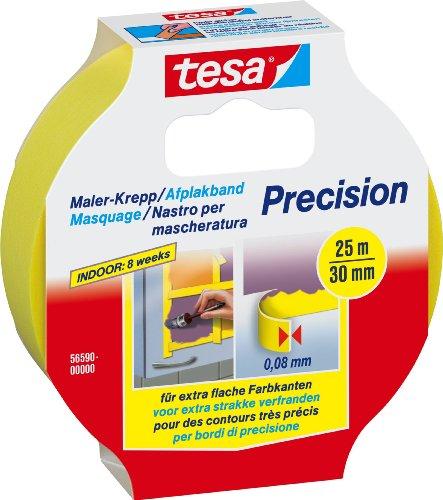 tesa - Nastro di mascheratura per bordi a colori di altissima precisione, ultra-sottile, 25 m x 30 mm