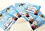 Do You Wanna Build a Snowman Candy Party Favor Kits (Cards with Bags)