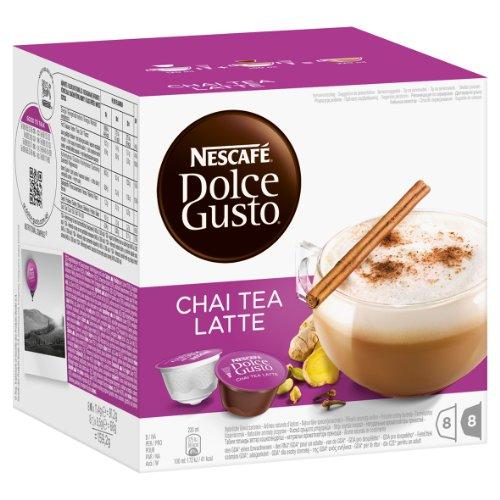 Nescafé Dolce Gusto Chai Tea Latte, 16 Capsules (8 Servings)