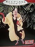 1998 Hallmark Ornament Disney's 101 Dalmations Cruella De Vil # 1 Series