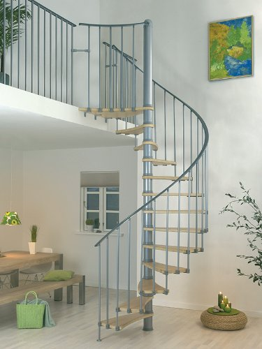 Dolle 150cm Valencia Spiral Staircase - Modular Stair Kit - Ideal for Loft Conversions & Access to Mezzanine Floors