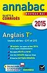 Annales Annabac 2015 Anglais Tle LV1...