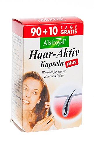 Alsiroyal Haar Aktiv Plus 90+10, 100 Stk.