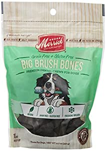 Merrick 10 Count Big Brush Dental Chew Bone