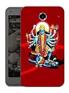 "Kali Maa Art Printed Designer Mobile Back Cover For ""Lenovo S880"" By Humor Gang (3D, Matte Finish, Premium Quality, Protective Snap On Slim Hard Phone Case, Multi Color)"