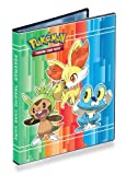 Pokemon XY - Combo Album - 4 Pocket Page Portfolio (Pokemon Trading Card Album / Binder)(Chespin, Fennekin and Froakie on front)