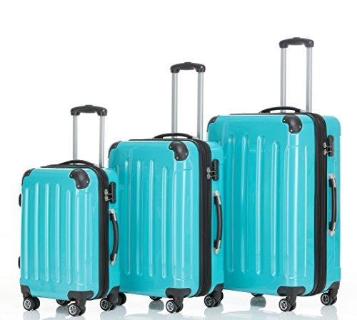 2-rulli-2048-rigida-trolley-valigia-da-viaggio-in-M-L-XL-in-14-colori-GREEN-SetXLLM