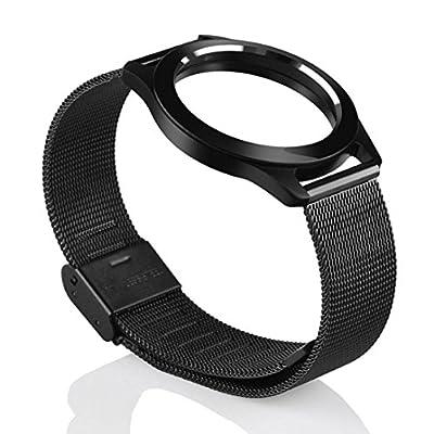 Smart Wristband TOOPOOT Steel Wristband Strap Bracelet Sleep Fitness Monitor For Misfit Shine 2