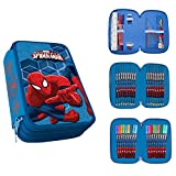 Acquista Astuccio 3 Zip Originale Spiderman Ultimate Completo 42 Pezzi