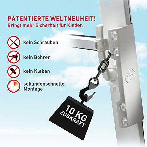 Isi safe la sicurezza bambini per finestre senza viti - Smontare maniglia finestra senza viti ...