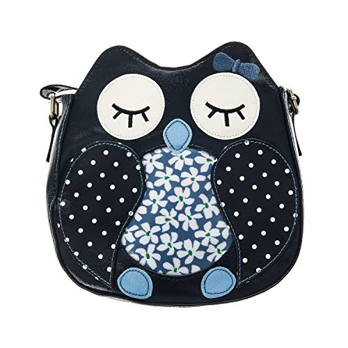 Claire's Girls and Womens Owl Cross Body Bag