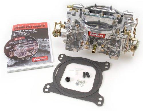 Edelbrock 1405 Performer 600 CFM Square Bore 4-Barrel Air Valve Secondary Manual Choke New Carburetor (Edelbrock Carburetor Accessories compare prices)