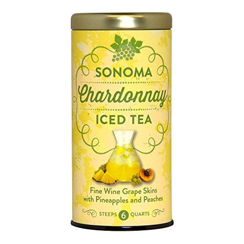 Sonoma Chardonnay Iced Tea, 6 Large Iced Tea Pouches / 6 Quarts (Grape Tea compare prices)
