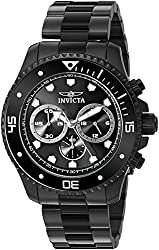 Invicta Men's 21792 Pro Diver Analog Display Quartz Black Watch