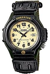 CASIO Men's FT-500WC-3BVCF Forester Black Sport Watch