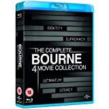 The Complete Bourne 4 Movie Collection (Bourne Identity, Supremacy, Ultimatum, Legacy) [Blu-ray] [Region Free]