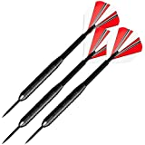 TG 23 Gram Steel Tip Dart Set With Case Darts