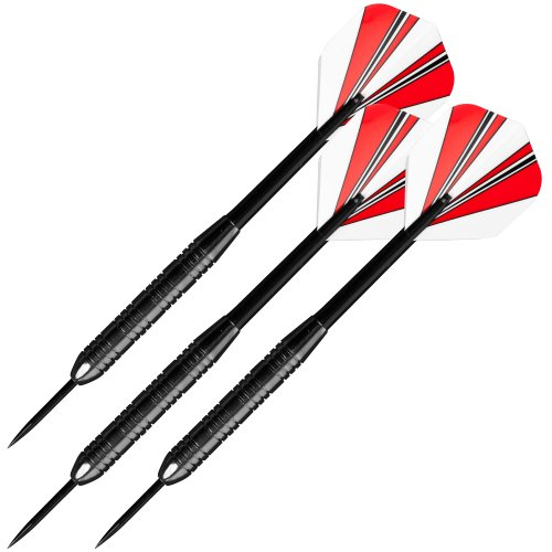 Best Deals! TG 23 Gram Steel Tip Dart Set With Case Darts